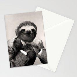 Gentleman Sloth #3 Stationery Cards
