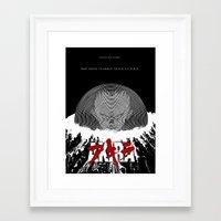 akira Framed Art Prints featuring Akira by TheRandomFactory