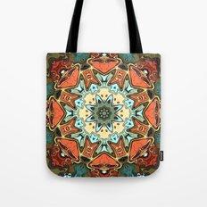 Textured Pastels Mandala Tote Bag