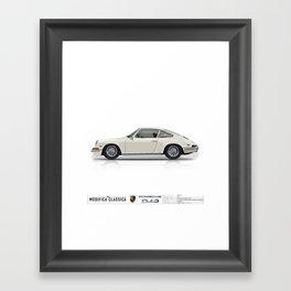 1968 Porsche 912 LIGHT IVORY Framed Art Print