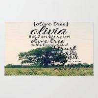 olivia joy Area & Throw Rugs featuring Olivia by KimberosePhotography