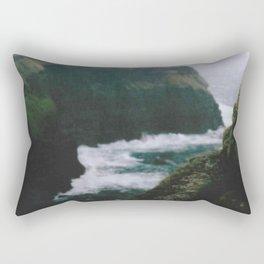 Analogue Cliffs Rectangular Pillow