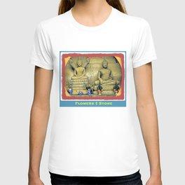 Flowers & Stone. T-shirt