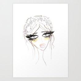 Country Girl Art Print