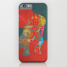 Godzilla 4 iPhone Case