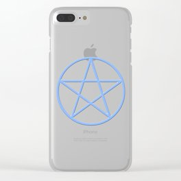 Pentacle Clear iPhone Case