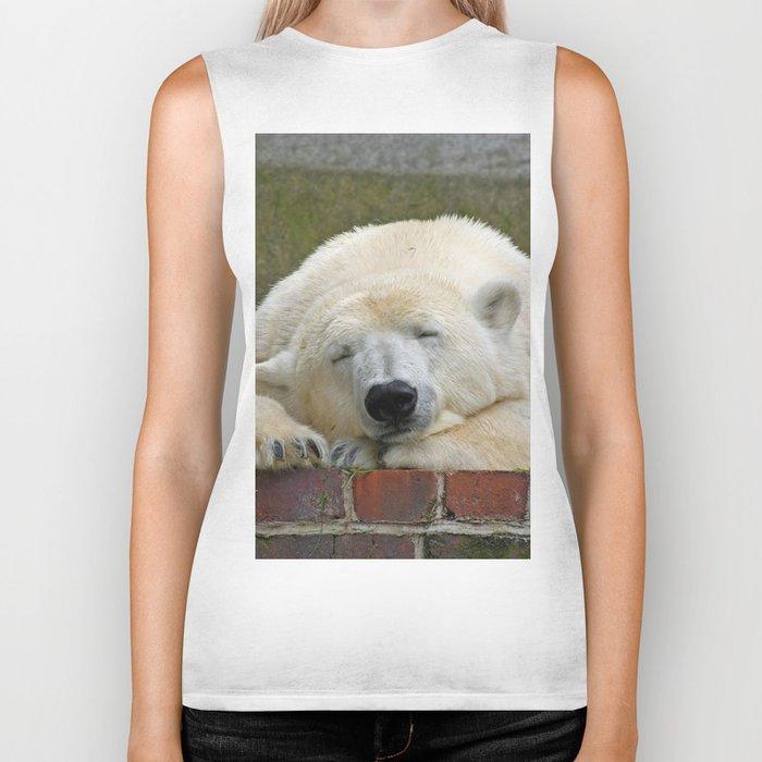 Polar Bear 003 Biker Tank