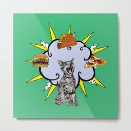Cat Food Metal Print