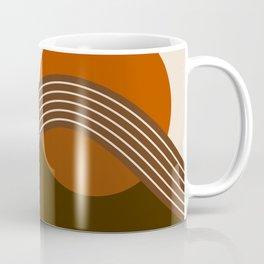 Cocoa Sundown Stripes Coffee Mug