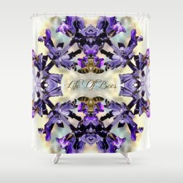 Life Of Bees  Shower Curtain