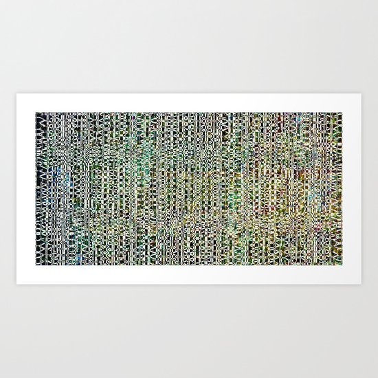 Pat's collection 8 Art Print