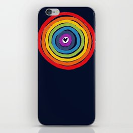 Bulls Eye  to love iPhone Skin