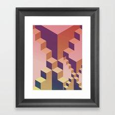 Geometry #03 Framed Art Print