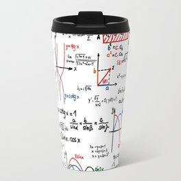 Math Cheat Sheet Travel Mug