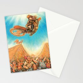Motocross 4 Stationery Cards