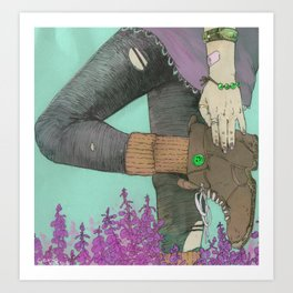 Premium Natural (2)  Art Print
