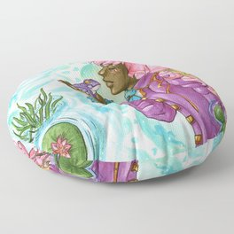 Frog prince Floor Pillow
