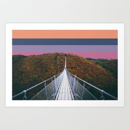 Colorscape II Art Print