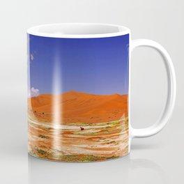 Namib desert with flowers in the rain season, Namibia Coffee Mug