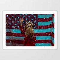 HRC (Hillary Rodham Clinton) Art Print