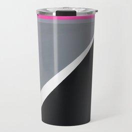 London - pink graphic Travel Mug