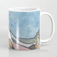 rocky Mugs featuring Rocky by Tonya Doughty