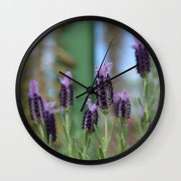Lavender 3..... Wall Clock