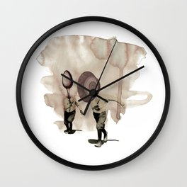 hey diddle diddle 5 Wall Clock