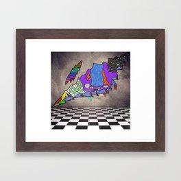 Lets Escape  Framed Art Print