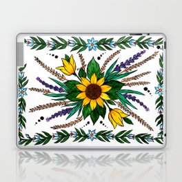 Zalipie Flowers Laptop & iPad Skin