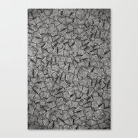 chaos Canvas Prints featuring Chaos!! by Alejandro Ayala