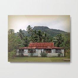 Island House Metal Print