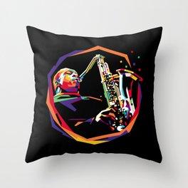 Jazz WPAP 01 Throw Pillow