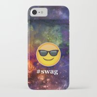 swag iPhone & iPod Cases featuring #Swag by pbstudios