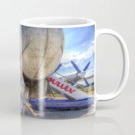 Malev Hungarian Airlines Ilyushin IL-18 Coffee Mug