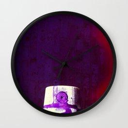 Sprayed Wall Clock