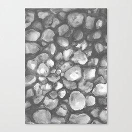 Riverstones Canvas Print