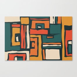 Maze abstract adventure Canvas Print
