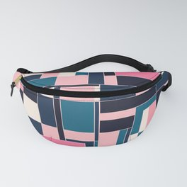 City, abstract painting Fanny Pack