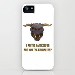 Ghostbusters (Gatekeeper/Keymaster/Zul) iPhone Case