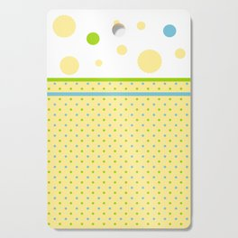 Yellow, With Dots Cutting Board