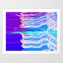 80's Chillwave Art Print