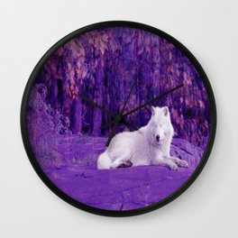 Dreaming Of Another World Wall Clock