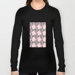 Soft pink ornament Long Sleeve T-shirt