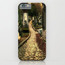 Pere Lachaise Cemetery iPhone Case