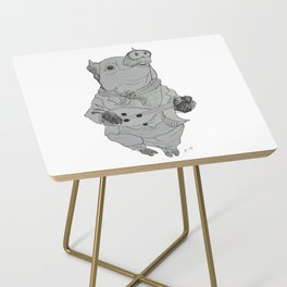 Playing with the Ham Side Table