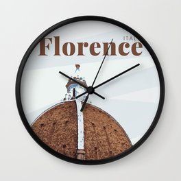 Florence Cathedral Italy Wall Clock