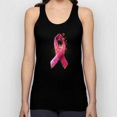 Breast Cancer Ribbon Unisex Tank Top