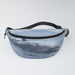 Dolphin: love for waves, love for life Fanny Pack