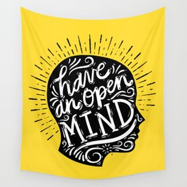 Open Mind Wall Tapestry